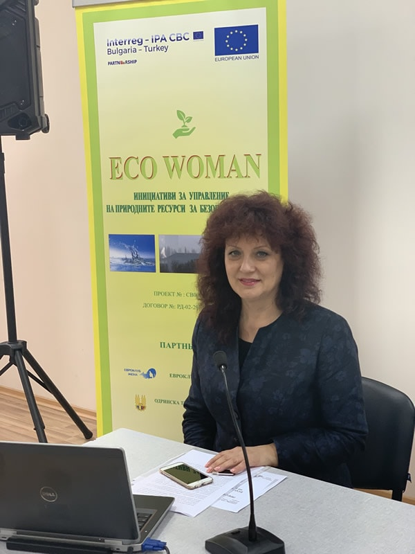 PRESS CONFERENCE FOR THE START OF THE PROJECT ECO WOMAN IN YAMBOL